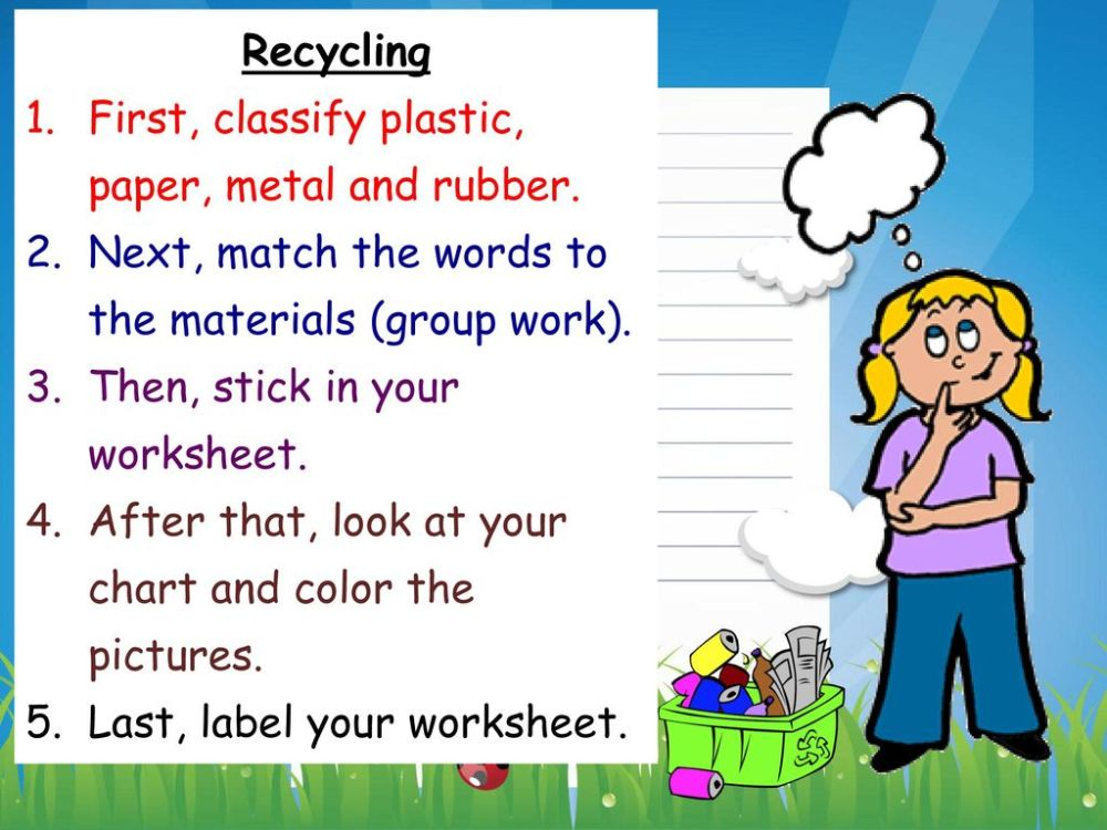 medium resolution of LIFE Theme 2: Garbage and Recycling. - ppt download