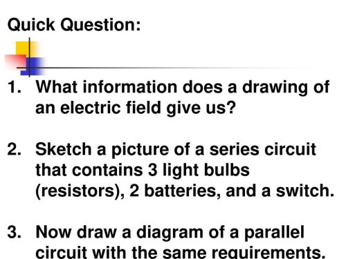 small resolution of quick question what information does a drawing of an electric field give us