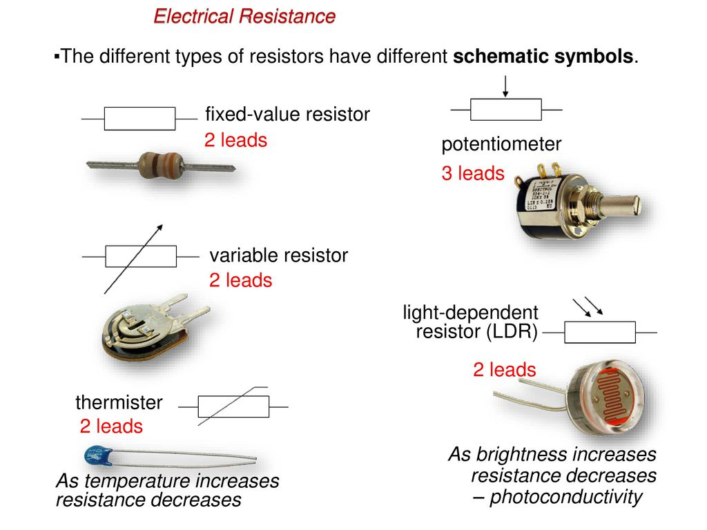 hight resolution of electrical resistance