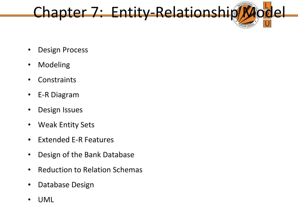 hight resolution of chapter 7 entity relationship model