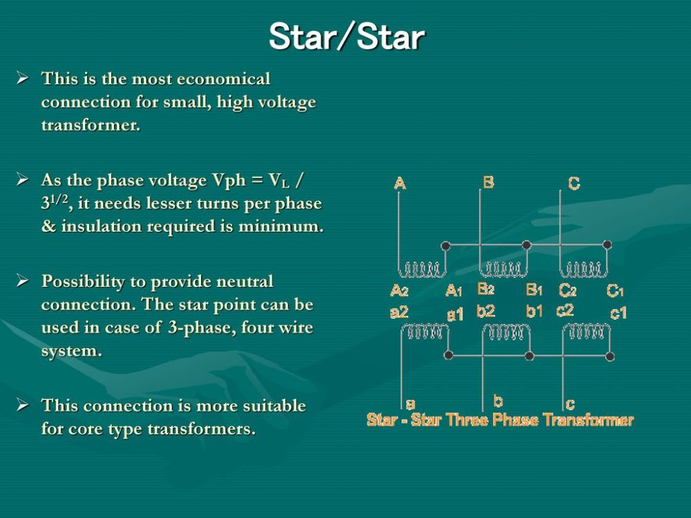 medium resolution of star star this is the most economical connection for small high voltage transformer