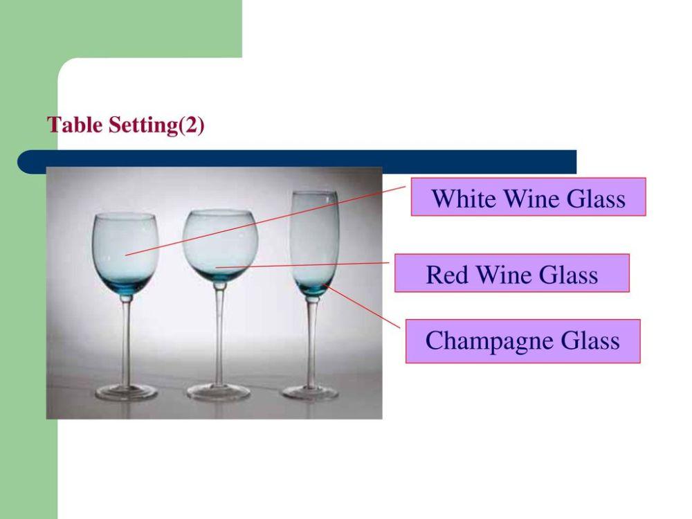 medium resolution of 20 table setting 2 white wine glass red wine glass champagne glass
