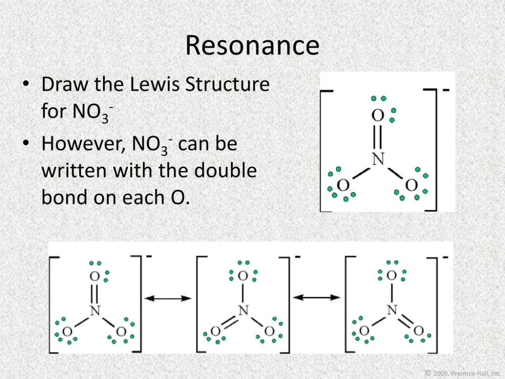 medium resolution of resonance draw the lewis structure for no3