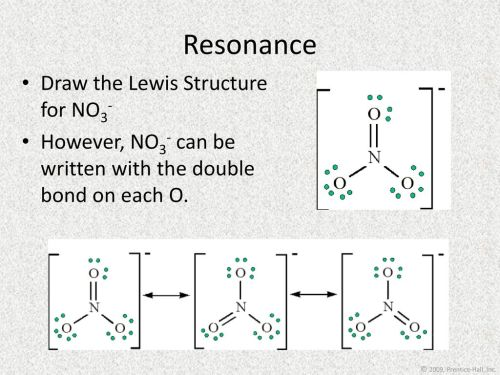 small resolution of resonance draw the lewis structure for no3