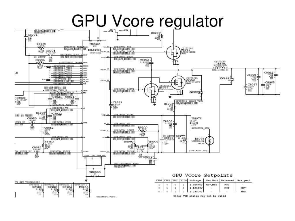 hight resolution of 15 gpu vcore regulator