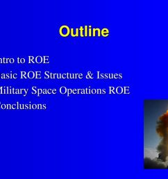 outline intro to roe basic roe structure issues [ 1024 x 768 Pixel ]
