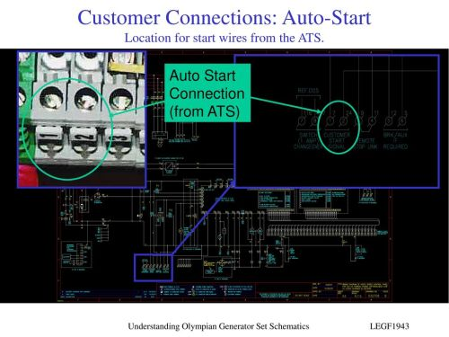 small resolution of customer connections auto start location for start wires from the ats