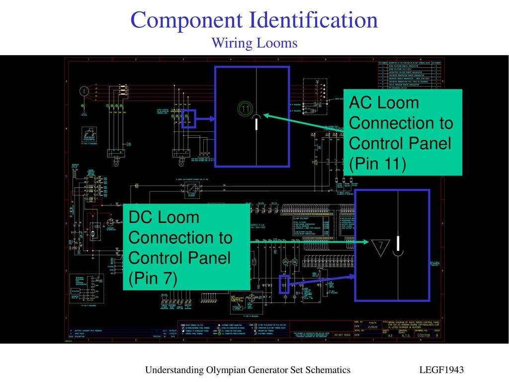 hight resolution of component identification wiring looms
