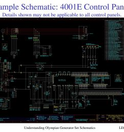 sample schematic 4001e control panel details shown may not be applicable to all control panels [ 1024 x 768 Pixel ]