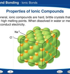 properties of ionic compounds [ 1024 x 768 Pixel ]