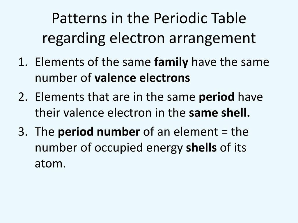 How Does The Periodic Table Organize The Elements