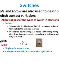 switches pole and throw are also used to describe switch contact variations abbreviations for [ 1024 x 768 Pixel ]