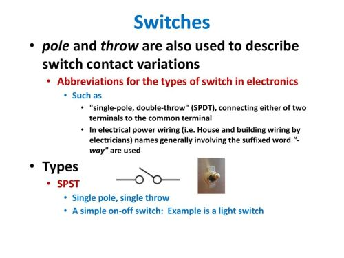 small resolution of switches pole and throw are also used to describe switch contact variations abbreviations for