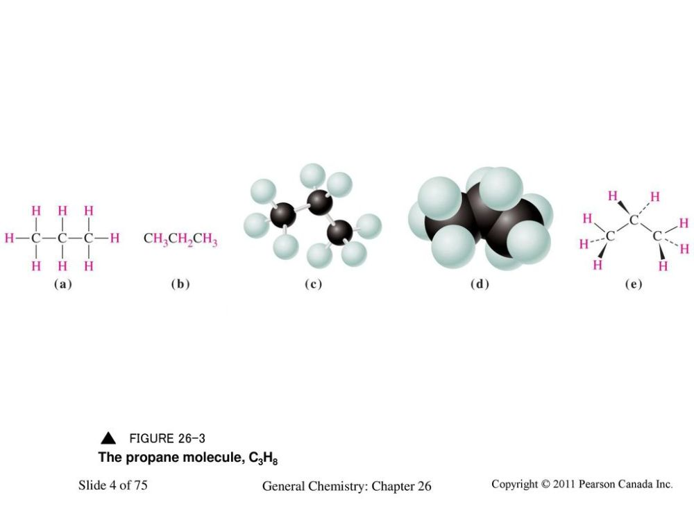medium resolution of 4 the propane molecule c3h8 chemistry 140 fall 2002 a structural formula