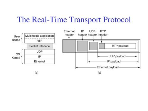small resolution of the real time transport protocol