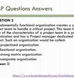 pmp questions answers [ 1024 x 768 Pixel ]