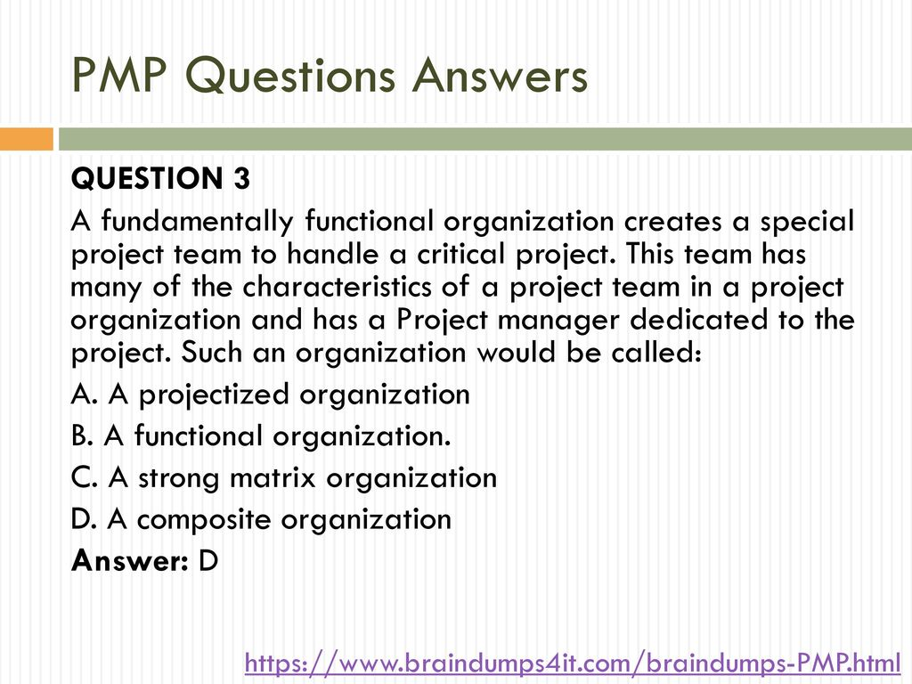 hight resolution of pmp questions answers