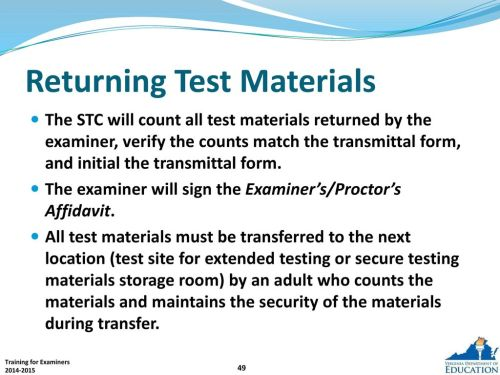 small resolution of standards of learning tests examiner and proctor training pptelectrical plan examiners transmittal form 10