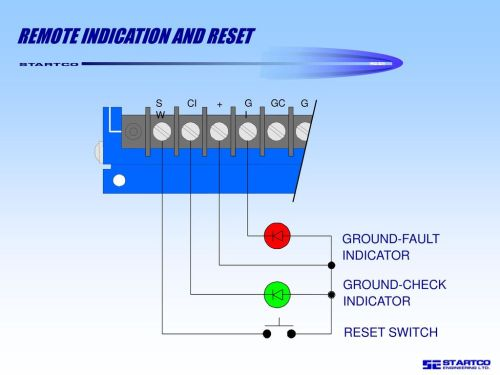 small resolution of remote indication and reset