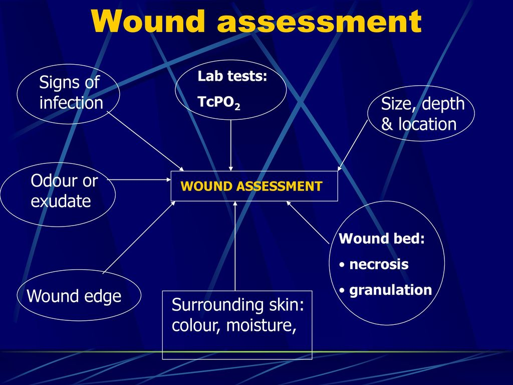 hight resolution of 20 wound assessment