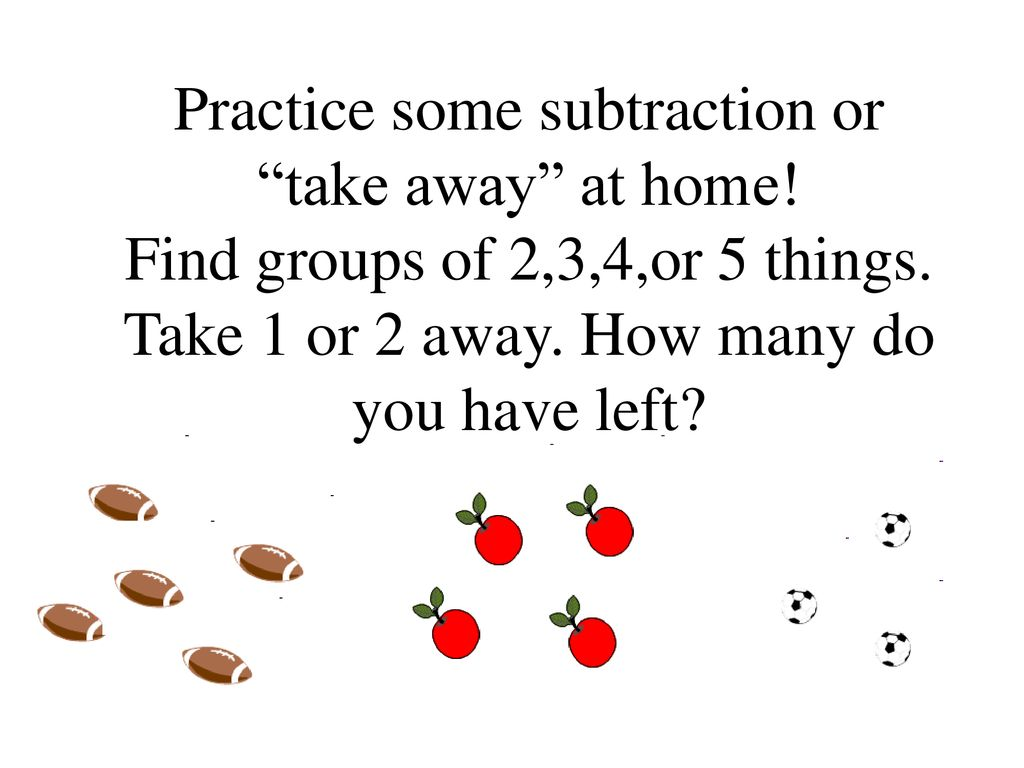 Introduction To Subtracting Fluently Within 5