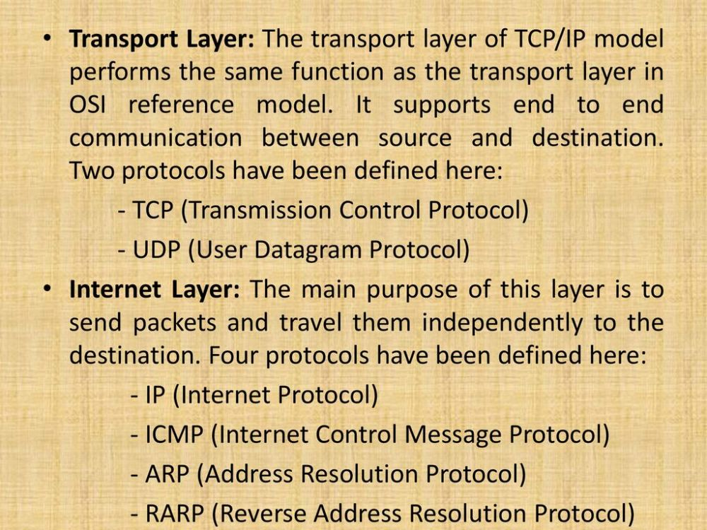 medium resolution of transport layer the transport layer of tcp ip model performs the same function as