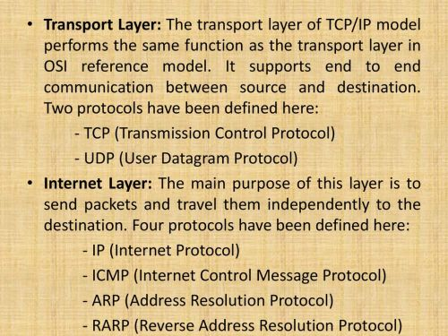 small resolution of transport layer the transport layer of tcp ip model performs the same function as