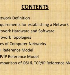 contents network definition requirements for establishing a network [ 1024 x 768 Pixel ]