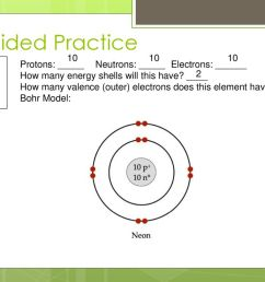 bohr model 2 8 guided practice ne neon protons neutrons electrons  [ 1024 x 768 Pixel ]