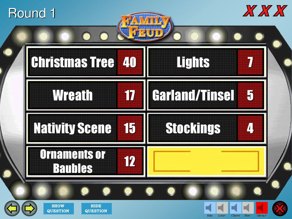 family feud template introduction