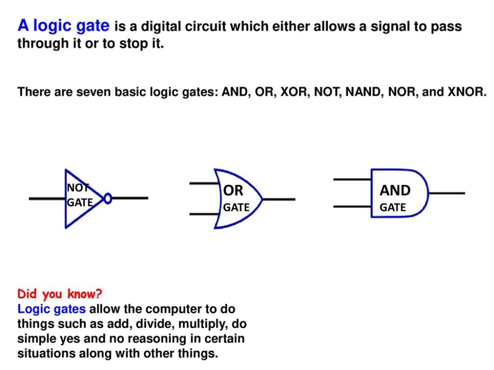 medium resolution of a logic gate is a digital circuit which either allows a signal to pass through it