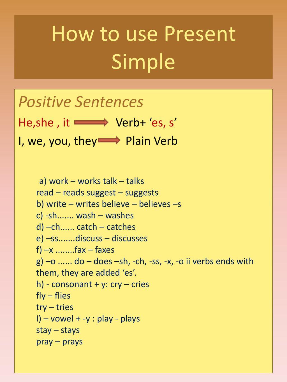 Ppt Simple Present Tense : simple, present, tense, Simple, Present, Tense, İdil, Akgün, Download