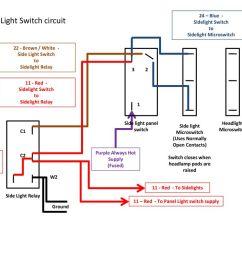 side light switch circuit [ 1024 x 768 Pixel ]