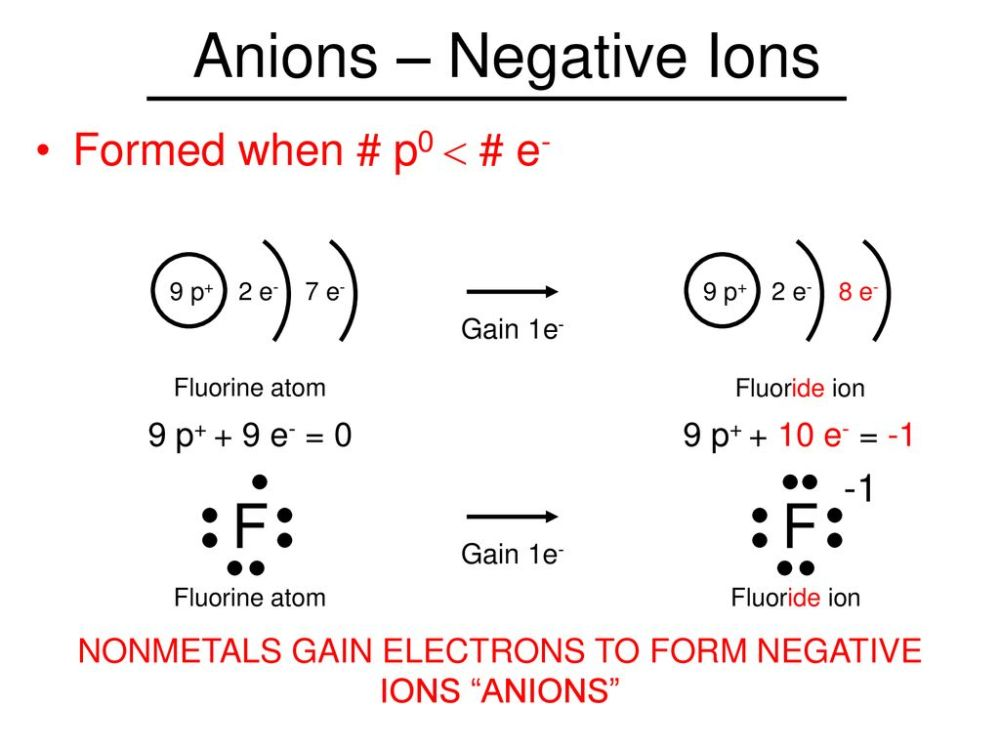 medium resolution of nonmetals gain electrons to form negative ions anions