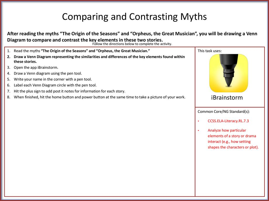 hight resolution of 1 comparing and contrasting myths