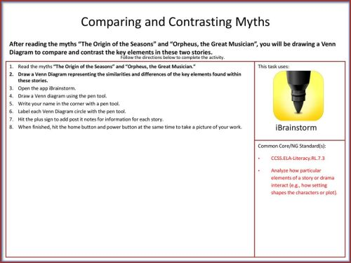 small resolution of 1 comparing and contrasting myths