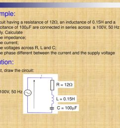 example a circuit having a resistance of 12 an inductance of 0 15h [ 1024 x 768 Pixel ]
