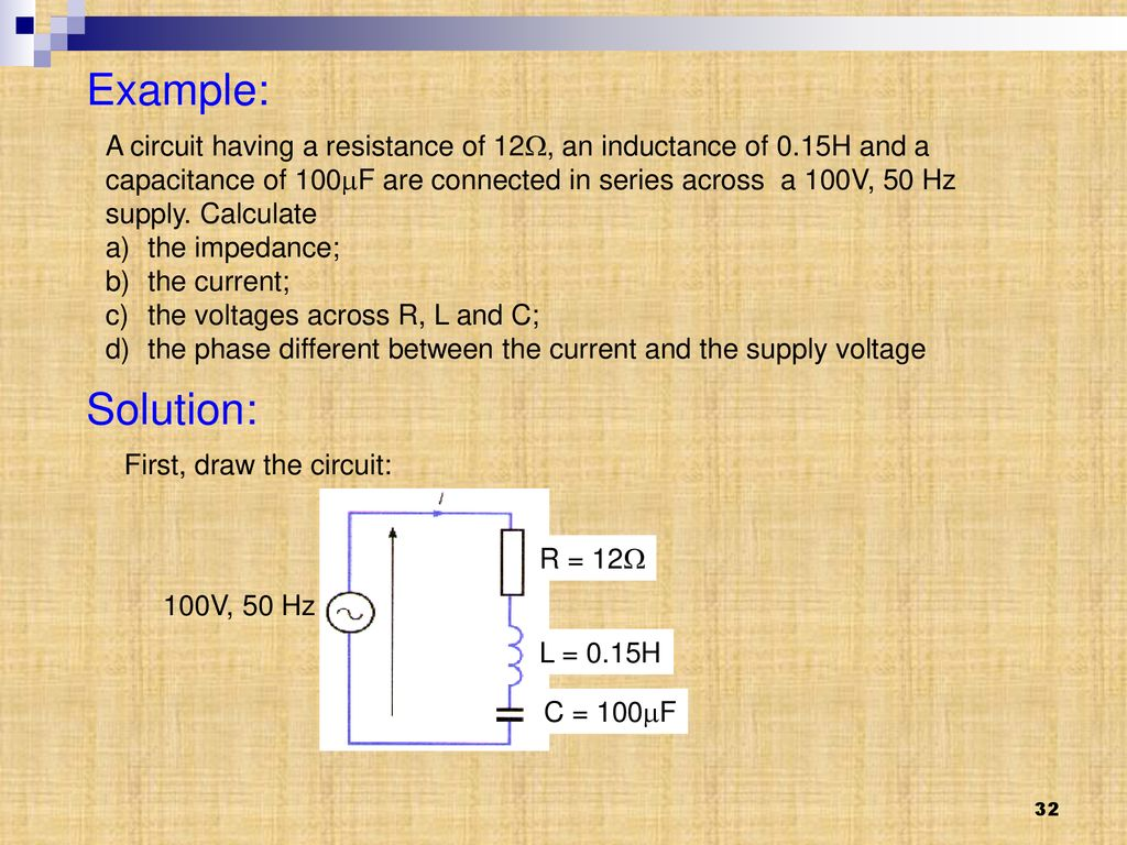 hight resolution of example a circuit having a resistance of 12 an inductance of 0 15h
