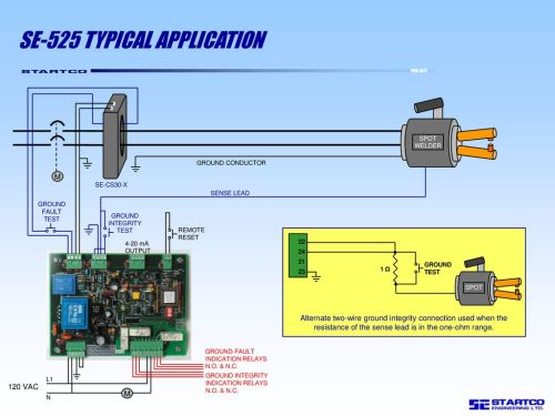 small resolution of 6 se 525 typical application
