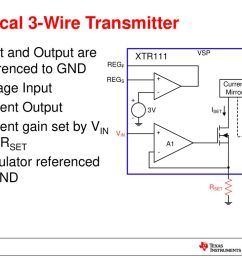 2 wire vs 3 wire transmitters ppt download rtd current loop transmitter using xtr105 circuit wiring diagrams [ 1024 x 768 Pixel ]