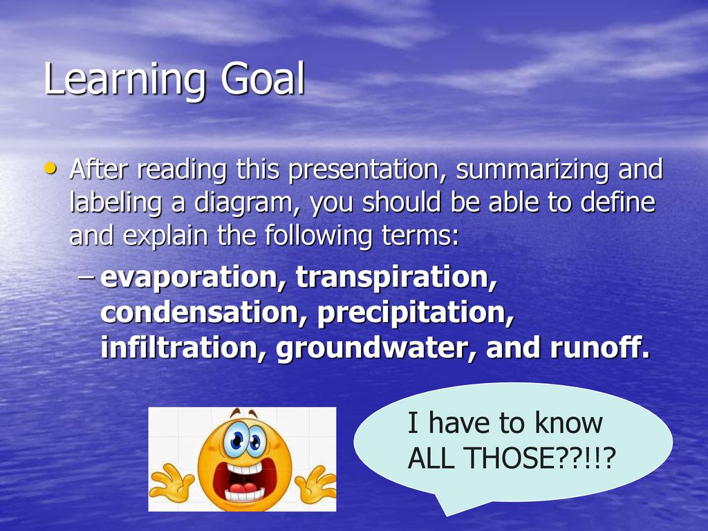 hight resolution of learning goal after reading this presentation summarizing and labeling a diagram you should be