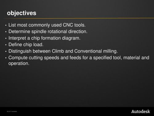 small resolution of objectives list most commonly used cnc tools