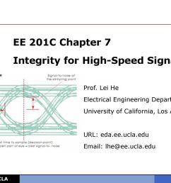 ee 201c chapter 7 integrity for high speed signaling [ 1024 x 768 Pixel ]