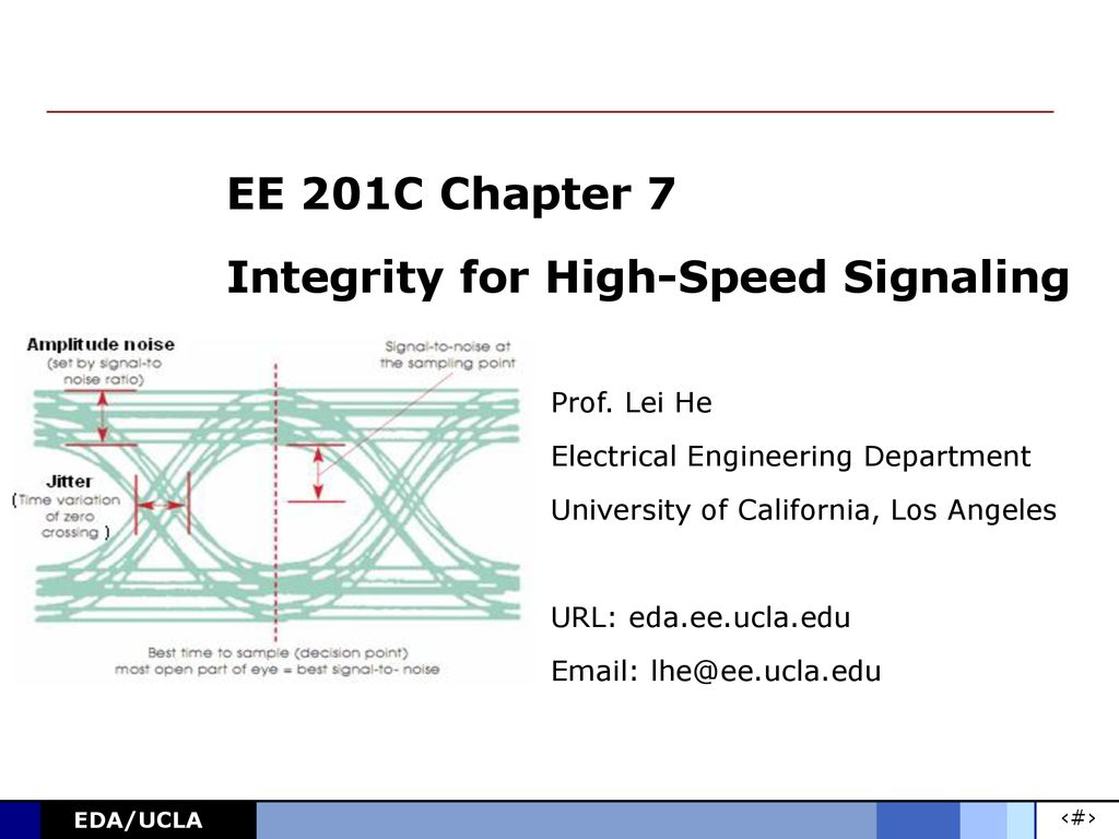 hight resolution of ee 201c chapter 7 integrity for high speed signaling