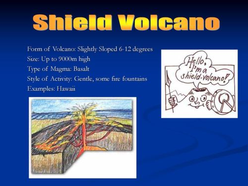 small resolution of shield volcano form of volcano slightly sloped 6 12 degrees