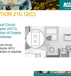 section c arc fault circuit interrupter afci protection of outlets [ 1024 x 768 Pixel ]