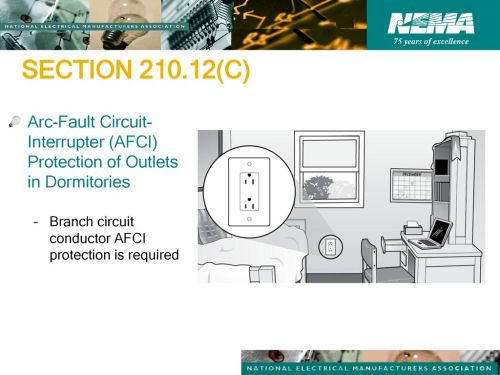 small resolution of section c arc fault circuit interrupter afci protection of outlets