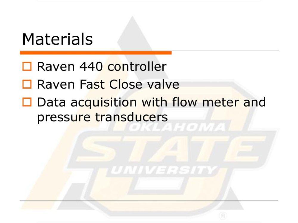 medium resolution of materials raven 440 controller raven fast close valve