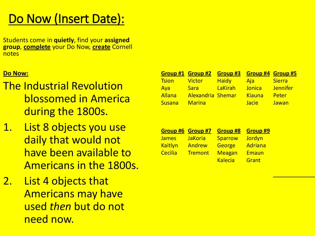 hight resolution of Rise of Industrial America: - ppt download