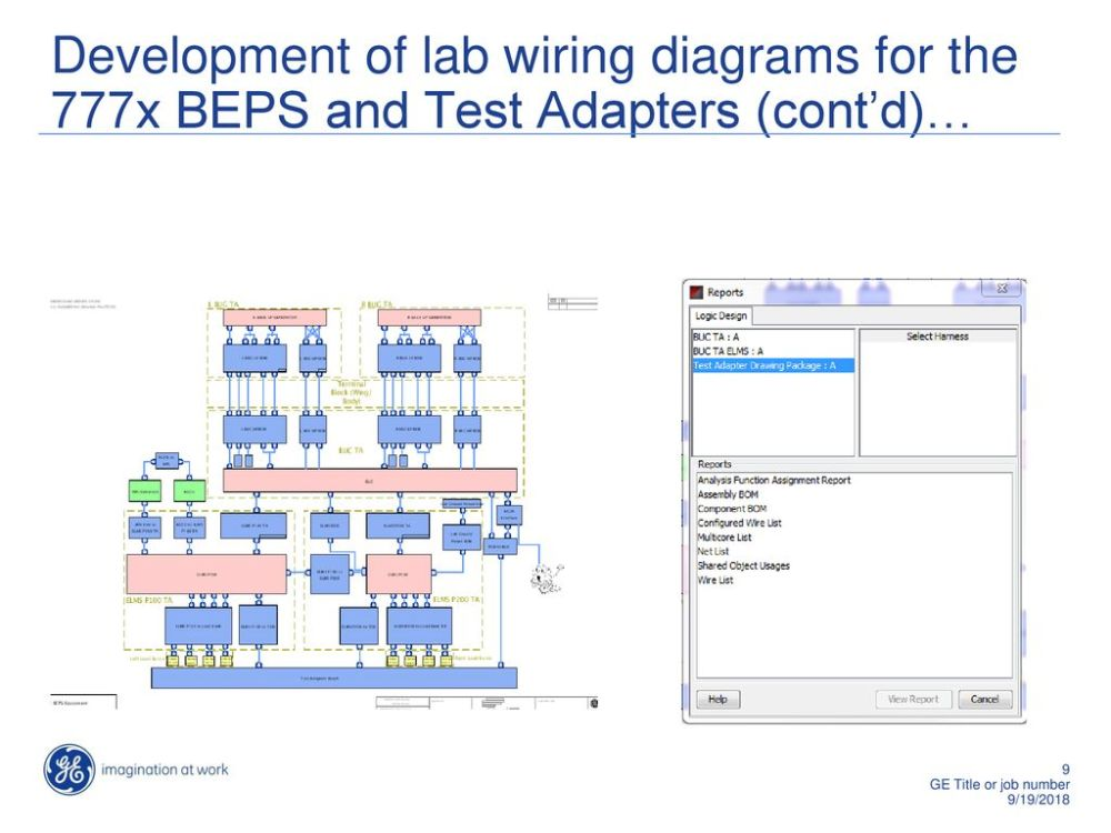 medium resolution of development of lab wiring diagrams for the 777x beps and test adapters cont d